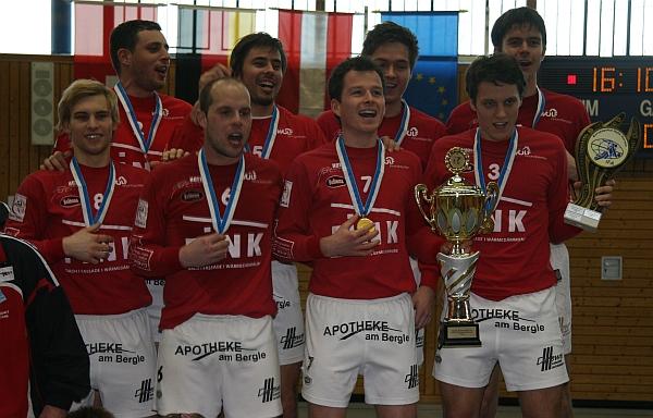 Siegerehrung Europapokal 2012